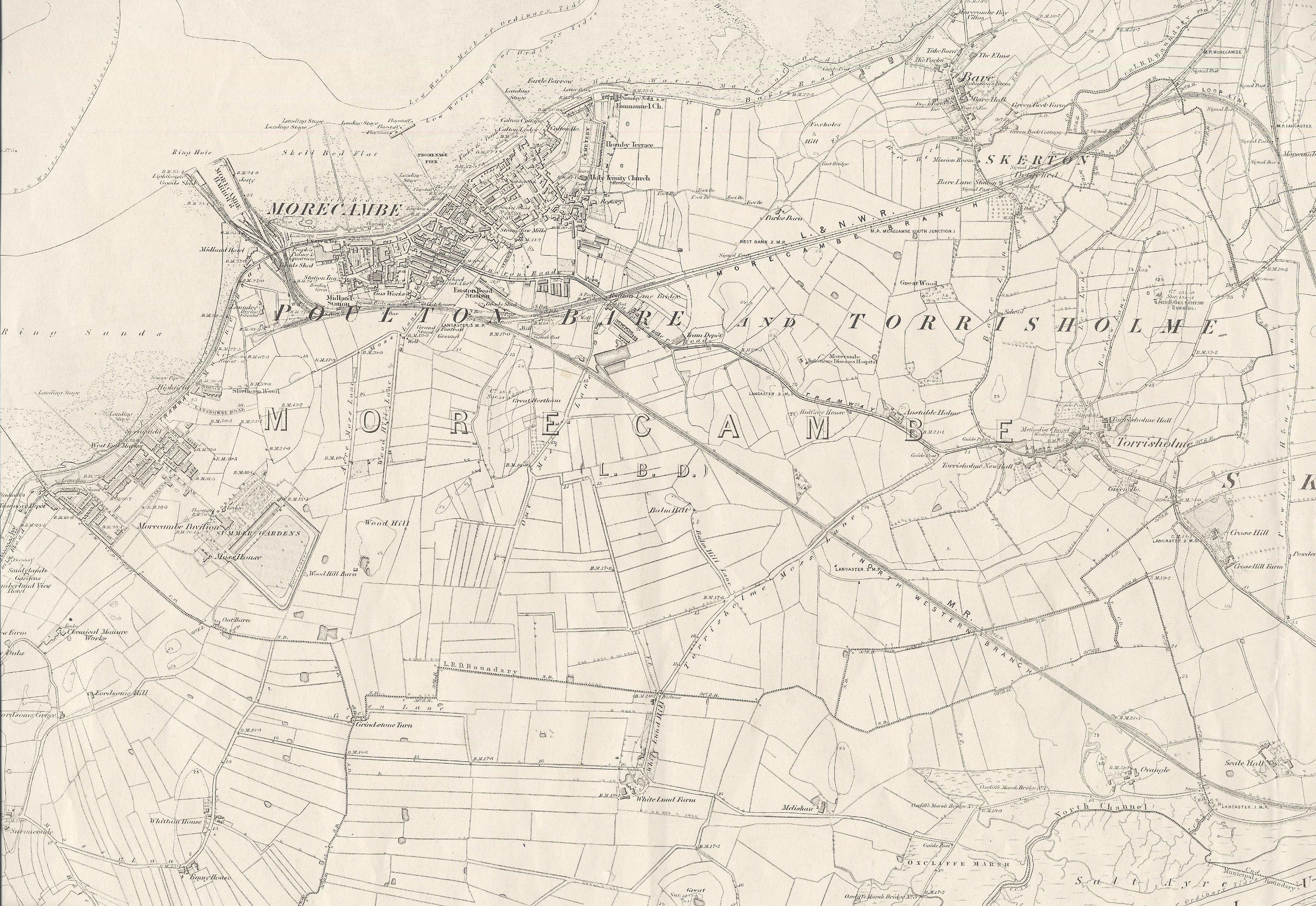 O.S. Morecambe 1891