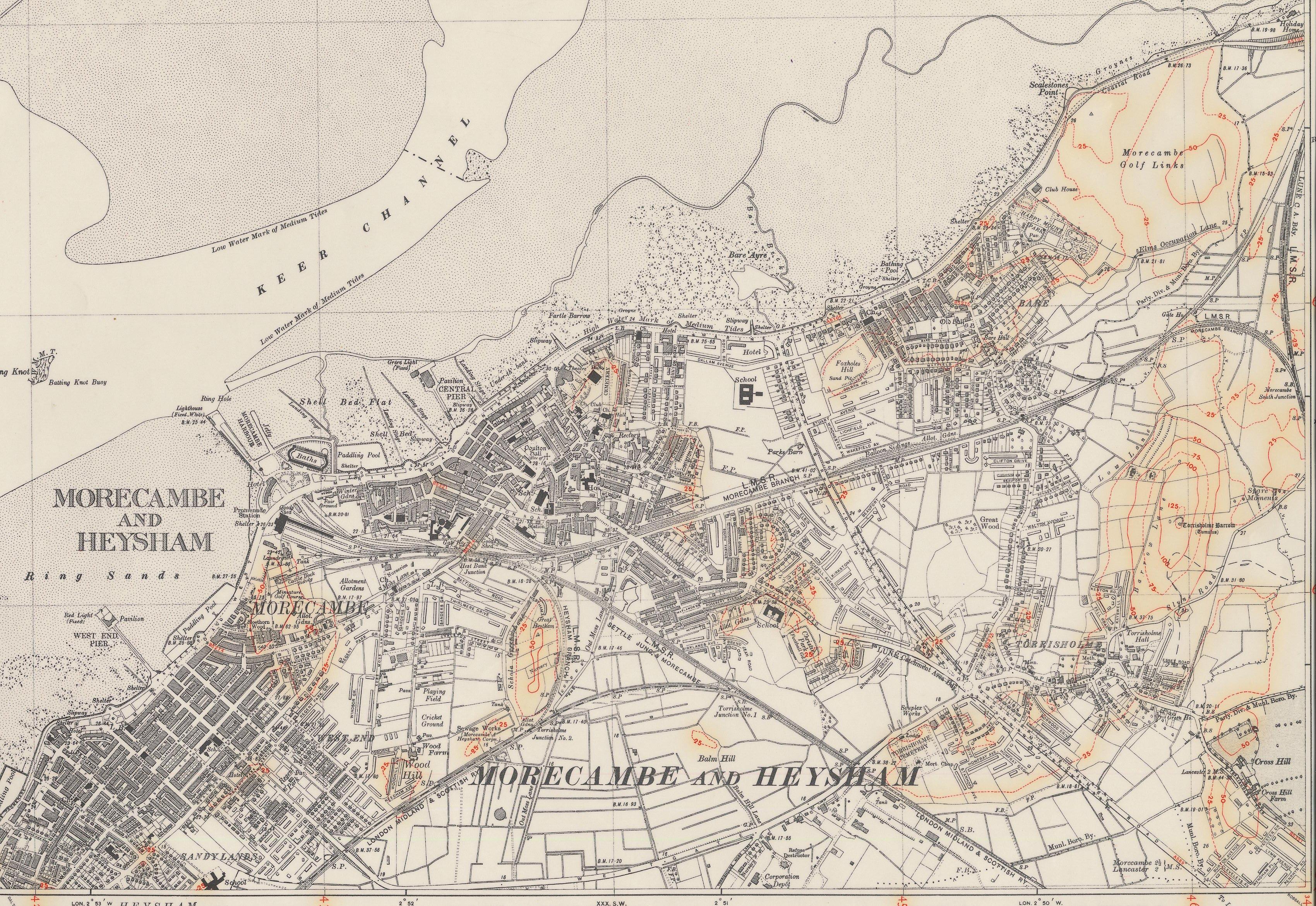 O.S. Morecambe 1931
